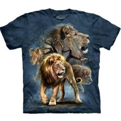 Tee shirt enfant Lion Collage
