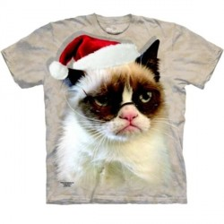 Tee shirt Chat - Holiday Grumpy
