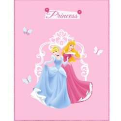 Plaid enfant Princesse Charms