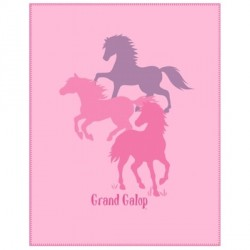 Plaid enfant Grand Galop Club