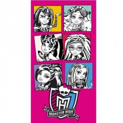 Drap de Plage - serviette de plage Monster High