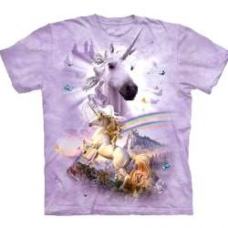 Tee shirt enfant Licornes-ciel