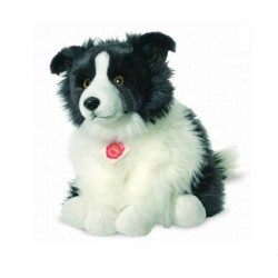 Peluche Chien Border Collie - 30 cm