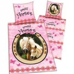 Housse de couette Cheval - Pretty horses