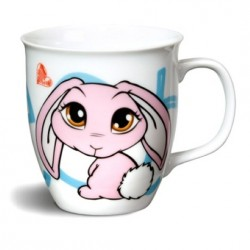 Mug Lapin rose