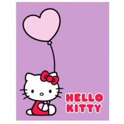Plaid enfant Hello Kitty Ballons