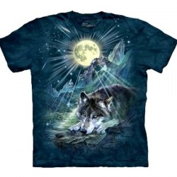 Tee shirt Loup - Wolf Night Symphonie