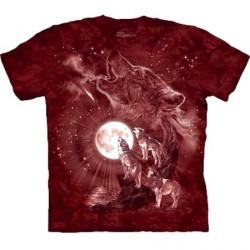 Tee shirt Loup - Wolf Moon Concert