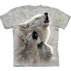 Tee shirt hurlements de loups