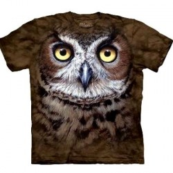Tee shirt Hiboux - Great Horned Owl