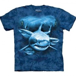 Tee shirt Requin - Shark Moon Eyes