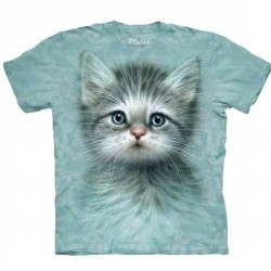 Tee shirt Chat - Blue Eyed Kitten