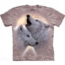 Tee shirt Loup - Love song