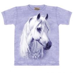 Tee shirt Cheval au Clair de Lune -  Taille XL
