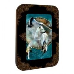 Boite déco animaux avec 12 cartes