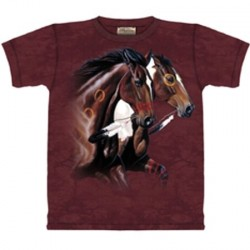 Tee shirt Cheval indien