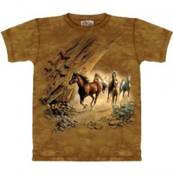 Tee shirt enfant Chevaux - Sacred Passage