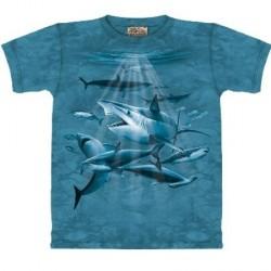 Tee shirt enfant Requins en chasse
