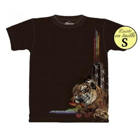 Tee shirt Tigre et lumieres