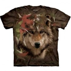 Tee shirt Loup - Autumn Encounter