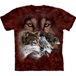 Tee shirt Loup - Find 9 Wolves