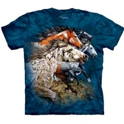 Tee shirt enfant 13 Chevaux - Taille 6/8 ans