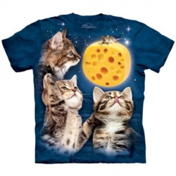Tee shirt Chat - trois petits chats Taille M