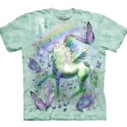 Tee shirt enfant Licorne et Papillons