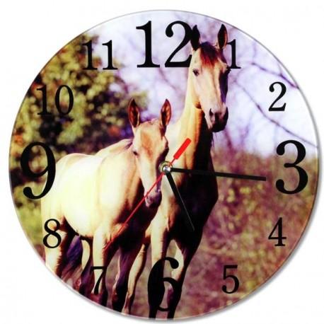 Horloge Jument et poulain