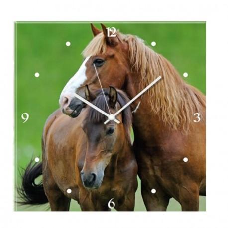 Horloge Cheval et Poney