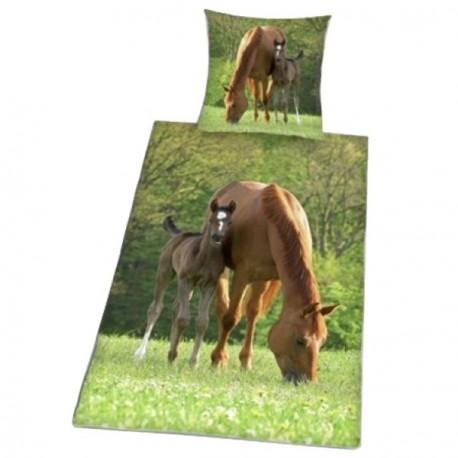 Parure de lit chevaux, housse de couette cheval - Cavacado f3c27ca8060f