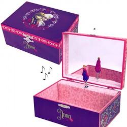 Boite à Bijoux musicale La Reine des Neiges