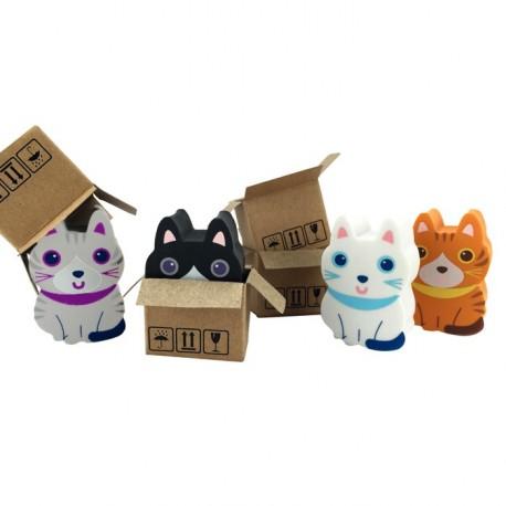 Lot de 2 funny gommes Chat - Sweet Kitten
