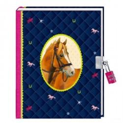 Journal intime cheval bleu