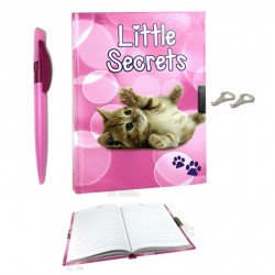 Journal intime Chat Petits Secrets