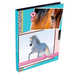 Journal intime Cheval Passion multicolore